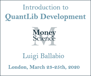 Introduction to QuantLib Development 2020